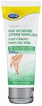 Düfte, Parfümerie und Kosmetik Intensiv feuchtigkeitsspendende Fußcreme mit 2% Vitaminkomplex für trockene Haut - Scholl Expert Care