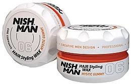 Düfte, Parfümerie und Kosmetik Haarstyling-Wachs - Nishman Hair Styling Wax 06 Mystic Gummy