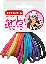 Düfte, Parfümerie und Kosmetik Haargummis mehrfarbig 20 St. - Titania Girls Care