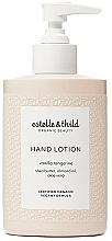 Düfte, Parfümerie und Kosmetik Handlotion mit Sheabutter, Mandelöl und Aloe Vera - Estelle & Thild Vanilla Tangerine Hand Lotion