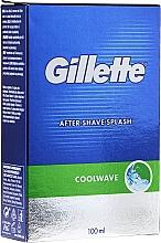 "Düfte, Parfümerie und Kosmetik After Shave ""Frische"" - Gillette Series Cool Wave After Shave Splash for Men"