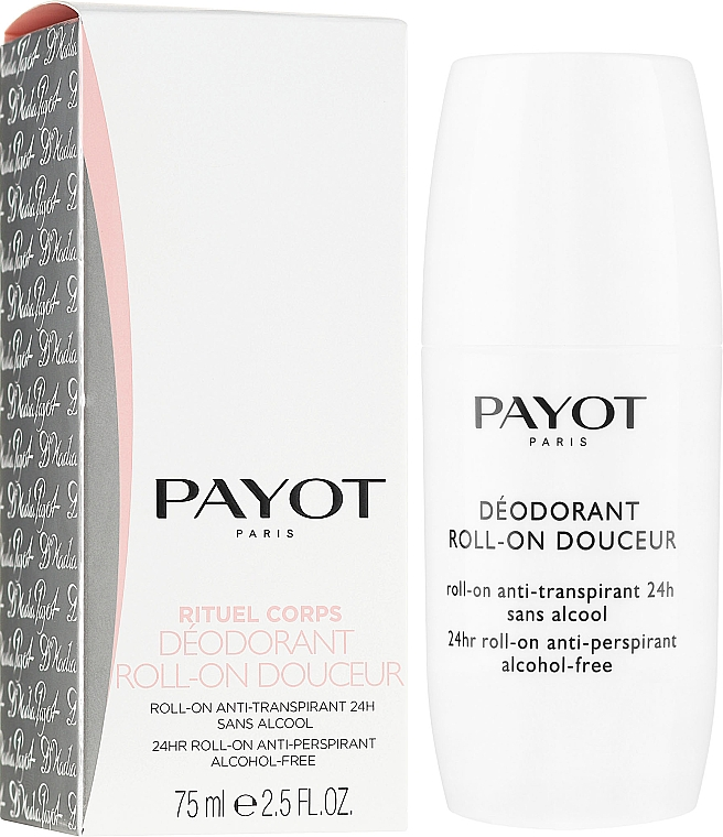 Aufweichendes Deo Roll-on - Payot Le Corps Deodorant Ultra Douceur Alcohol Free Roll On Deodorant