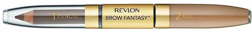 2in1 Augenbrauenstift und Gel - Revlon Brow Fantasy