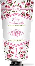 Düfte, Parfümerie und Kosmetik Handcreme mit Sheabutter - Institut Karite Rose Mademoiselle Light Shea Hand Cream