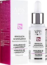 Düfte, Parfümerie und Kosmetik Feuchtigkeitsspendende Gesichtsemulsion - APIS Professional 4D Hyaluron + Lingostem
