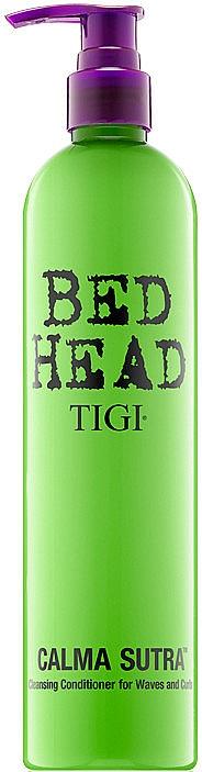 Klärende Haarspülung für lockiges und welliges Haar - Tigi Bed Head Calma Sutra Cleansing Conditioner For Waves And Curls