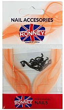 Düfte, Parfümerie und Kosmetik Nageldekoration Kette 00377 gold-schwarz - Ronney Professional