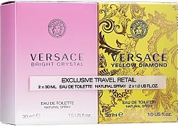 Düfte, Parfümerie und Kosmetik Versace Bright Crystal - Duftset (Eau de Toilette/30ml + Eau de Toilette/30ml)