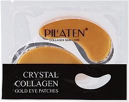 Düfte, Parfümerie und Kosmetik Gel-Augenpatches mit Kollagen - Pilaten Crystal Collagen Gold Eye Mask