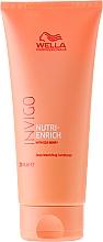 Düfte, Parfümerie und Kosmetik Nährende Haarspülung für trockenes und strapaziertes Haar - Wella Invigo Nutri-Enrich Deep Nourishing Conditioner