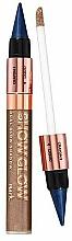 Düfte, Parfümerie und Kosmetik 2in1 Flüssiger Lidschatten & cremiger Stift für ausdrucksstarke Augen - Avon Mark Show Glow Dual Glow Shadow