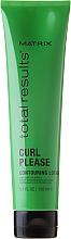 Düfte, Parfümerie und Kosmetik Haarlotion für lockiges und welliges Haar - Matrix Total Results Curl Contouring Lotion