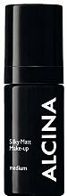 Düfte, Parfümerie und Kosmetik Mattierende Foundation - Alcina Silky Matt Make-up