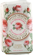 Düfte, Parfümerie und Kosmetik Parfümierte Körperseife - Panier Des Sens Rose Soap