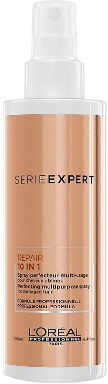 10in1 Multifunktionales Haarspray für strapaziertes Haar - L'Oreal Professionnel Absolut Repair 10 in 1 Perfecting Multipurpose Spray