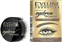 Düfte, Parfümerie und Kosmetik Wasserfeste Augenbrauenpomade - Eveline Cosmetics Eyebrow Pomade Waterproof (1St.)