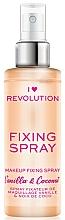 Düfte, Parfümerie und Kosmetik Make-up-Fixierspray Vanille und Kokosnuss - I Heart Revolution Fixing Spray Vanilla & Coconut