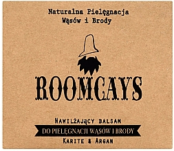 Düfte, Parfümerie und Kosmetik Bart- und Schnurrbartbalsam mit Sheabutter und Arganöl - Roomcays