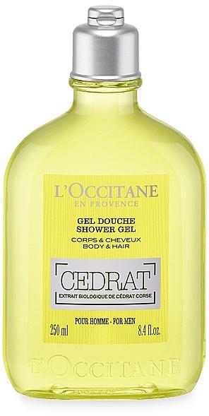 Duschgel für Körper und Haar - L'Occitane Cedrat Shower Gel — Bild N1