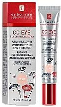 Düfte, Parfümerie und Kosmetik Beruhigende CC Creme für die sensible Augenpartie LSF 20 - Erborian Finish CC Eye Cream