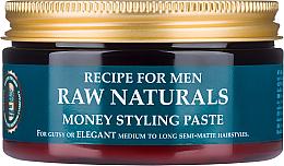 Düfte, Parfümerie und Kosmetik Modellierende Haarstyling Paste für Männer - Recipe For Men RAW Naturals Money Styling Paste