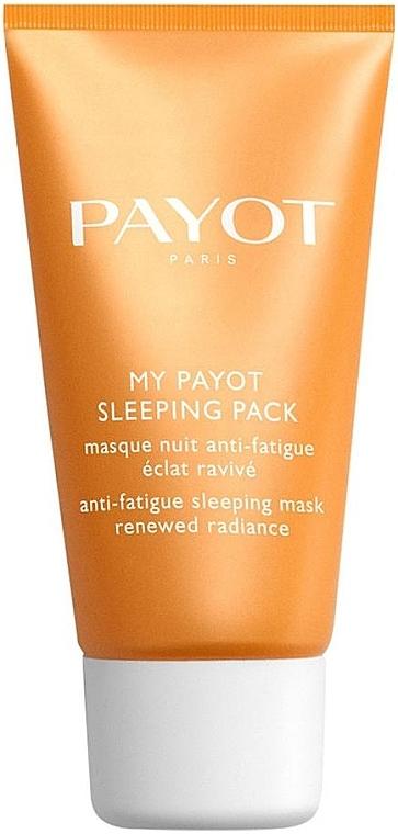 Pflegende Nachtmaske für das Gesicht mit Hyaluronsäure gegen Müdigkeit - Payot My Payot Sleeping Pack