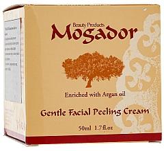 Düfte, Parfümerie und Kosmetik Cremiges Gesichtspeeling mit Arganöl, Vitamin E und Mineralien aus dem Toten Meer - Mogador Centle Facial Peeling Cream