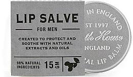 Düfte, Parfümerie und Kosmetik Schützender und beruhigender Lippenbalsam für Männer mit natürlichen Extrakten und Ölen - Bath House Citrus Fresh Lip Balm