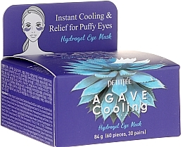Düfte, Parfümerie und Kosmetik Kühlende Hydrogel-Augenpatches mit Agavenextrakt - Petitfee&Koelf Agave Cooling Hydrogel Eye Mask