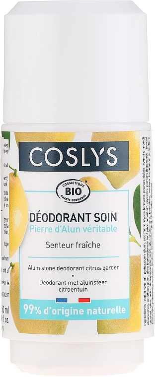 Deo Roll-on mit Zitrone - Coslys Body Care Citrus Garden Deodorant