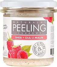 Düfte, Parfümerie und Kosmetik Natürliches Körperpeeling mit Sheabutter und Himbeeröl - E-Fiore Raspberry Body Peeling