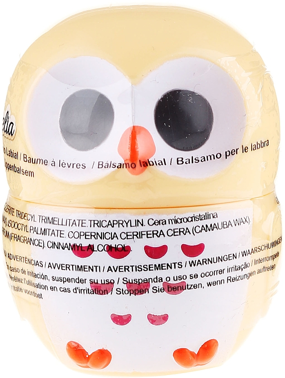 Lippenbalsam Eule gelb - Martinelia Owl Lip Balm