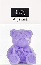 Düfte, Parfümerie und Kosmetik Handgemachte Naturseife Teddybär mit Lavendelduft - LaQ Happy Soaps Natural Soap