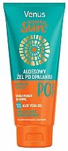Düfte, Parfümerie und Kosmetik Kühlendes After Sun Körpergel mit Aloe Vera - Venus Golden Sun Aloe Vera Gel