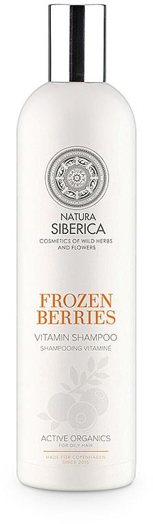 "Vitamin-Shampoo für fettiges Haar ""Frozen Berries"" - Natura Siberica Copenhagen Frozen Berries Shampoo"