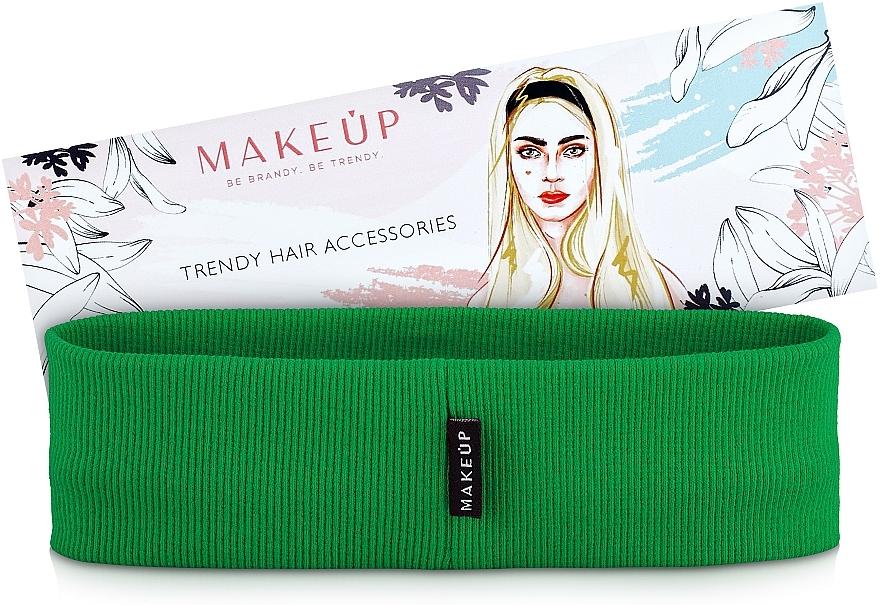 Haarband Be Beauty grün - MakeUp