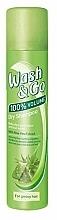 Düfte, Parfümerie und Kosmetik Trockenshampoo für fettiges Haar mit Aloe-Extrakt - Wash&Go