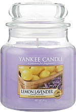 Düfte, Parfümerie und Kosmetik Duftkerze im Glas Lemon Lavender - Yankee Candle Lemon Lavender Jar