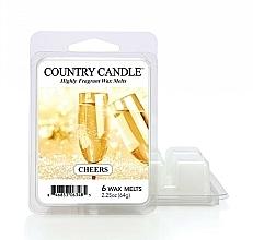Düfte, Parfümerie und Kosmetik Tart-Duftwachs Cheers - Country Candle Cheers Cheesecake Wax Melts