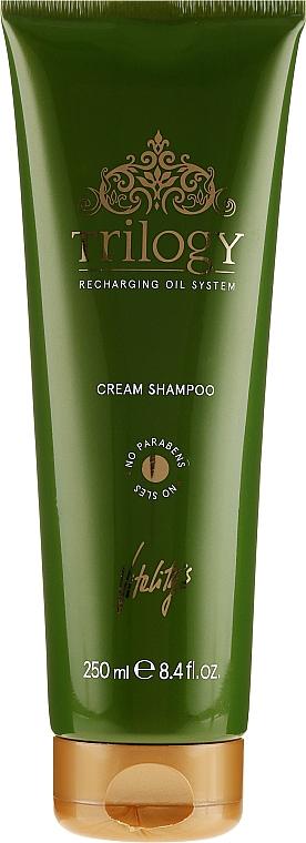 Nährendes Shampoo für mehr Glanz - Vitality's Trilogy Cream Shampoo