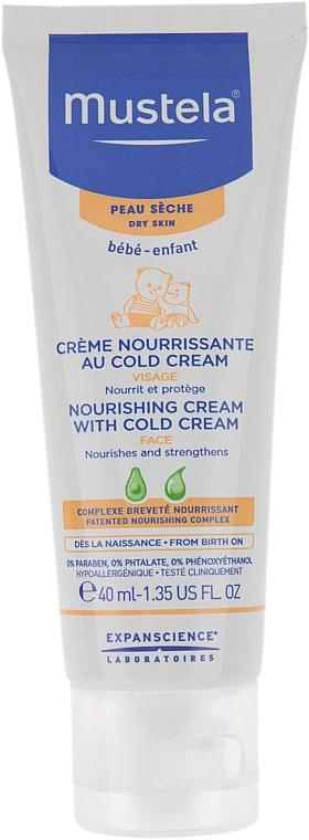 Nährende Gesichtscreme mit kalter Creme für Babys - Mustela Bebe Nourishing Cream with Cold Cream