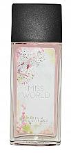 Düfte, Parfümerie und Kosmetik Vittorio Bellucci Miss World - Parfümiertes Körperspray