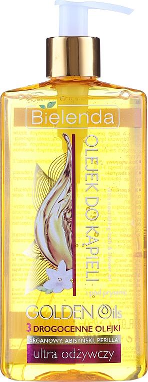 Pflegendes Bade- und Duschöl - Bielenda Golden Oils