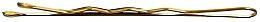 Düfte, Parfümerie und Kosmetik Haarnadeln 4 cm gold - Lussoni Waved Hair Grips 4 cm Golden