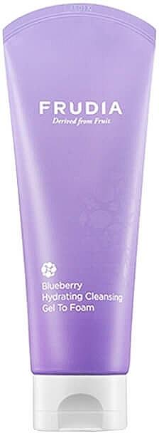 Feuchtigkeitsspendender Gesichtsreinigungsgel-Schaum mit Blaubeerextrakten - Frudia Hydrating Blueberry Cleansing Gel to Foam — Bild N1