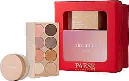 Düfte, Parfümerie und Kosmetik Make-up Set - Paese Selflove Set 2 (Matte Lidschatten-Palette 12g + Gesichtspuder 10g)
