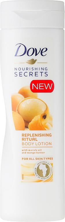 Körperlotion mit Marulaöl und Mangobutter - Dove Nourishing Secrets Invigorating Ritual Body Lotion