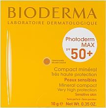 Düfte, Parfümerie und Kosmetik Kompakt Sonnen-Make-up mit SPF 50+ - Bioderma Photoderm Max SPF50+ Mineral Compact