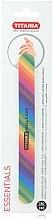 Düfte, Parfümerie und Kosmetik Nagelfeile mehrfarbig - Titania Rainbow Nail File