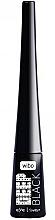 Düfte, Parfümerie und Kosmetik Eyeliner - Wibo Eye Liner Deep Black